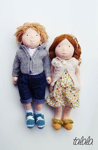 Lalki Waldorfskie Talala waldorf dolls lalki na zamówienie