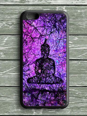 Budha Cracked Purple iPhone 6 Plus Case