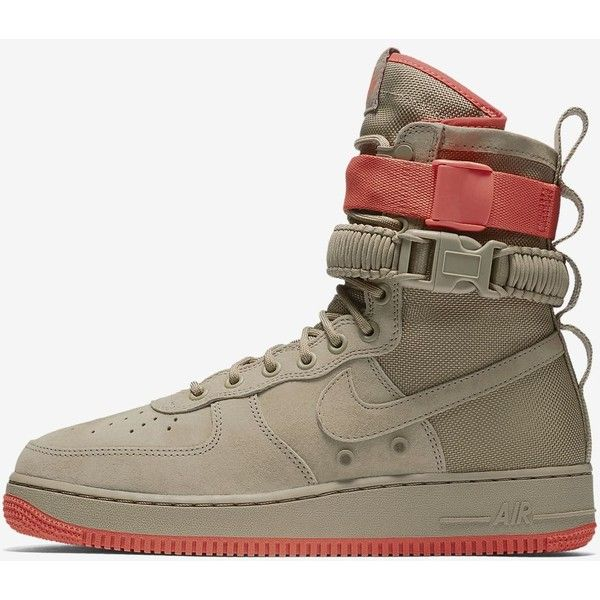 Nike SF Air Force 1 Men's Boot. Nike.com ($100) ❤ liked on Polyvore featuring men's fashion, men's shoes, men's boots, mens boots, mens shoes, nike mens boots and nike mens shoes