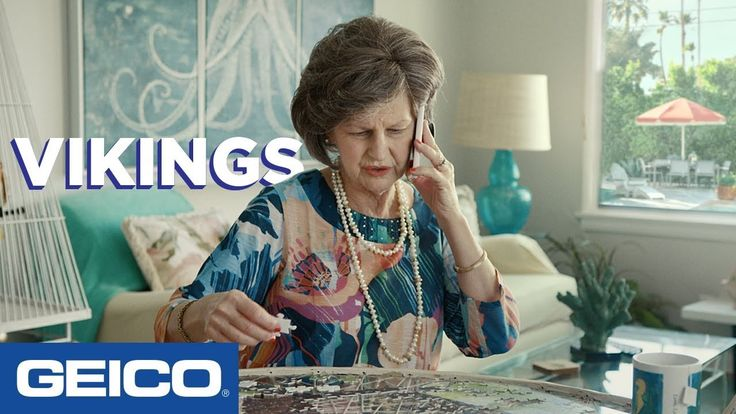 Call Continued With Spy Mom: Vikings - GEICO Insurance ...