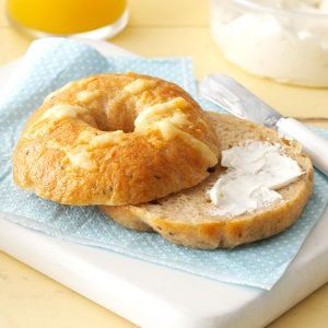 Inspired by: Asiago Cheese Bagel