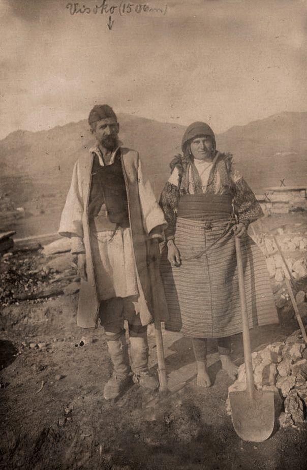 Krushevitsa village, Mariovo region, Macedonia, 1917
