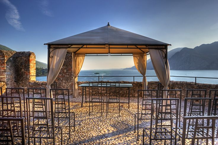 Where we got married, castello scaligero malcesine ❤❤