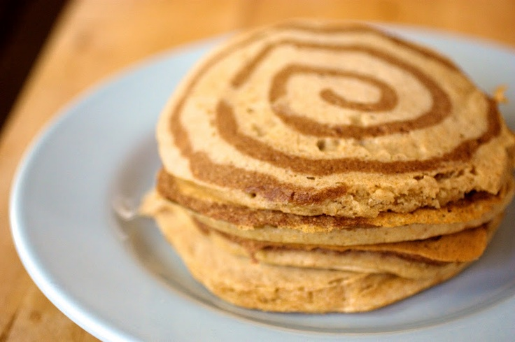 Naturally Ella | Cinnamon Swirl Pancakes | Breakfast things | Pintere ...