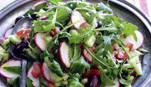 salade radis