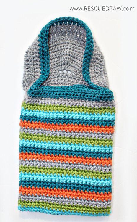Hooded Crochet Baby Blanket   Rescued Paw