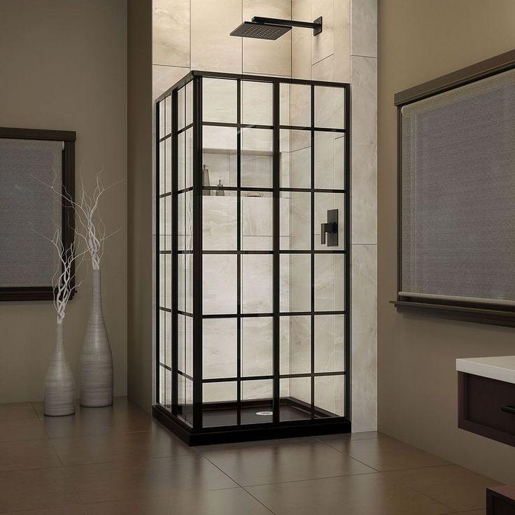 Small Bathroom Glass Shower Door: Best 25+ Corner Shower Doors Ideas On Pinterest