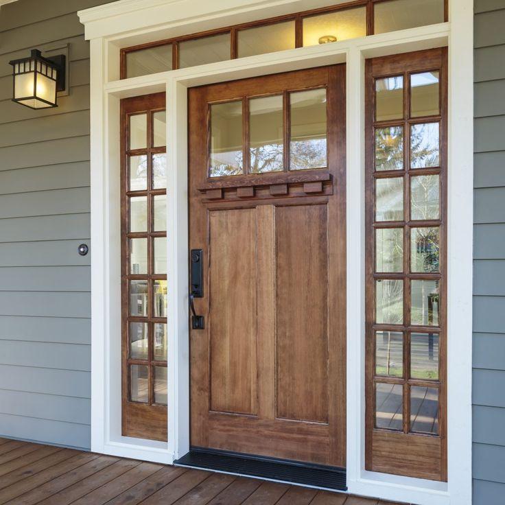 Fir Exterior Doors Wood