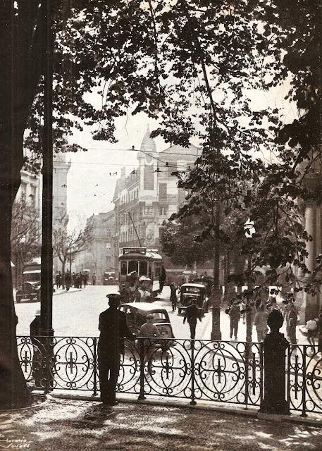 Lisboa 1947, fotografia de Horácio Novais.
