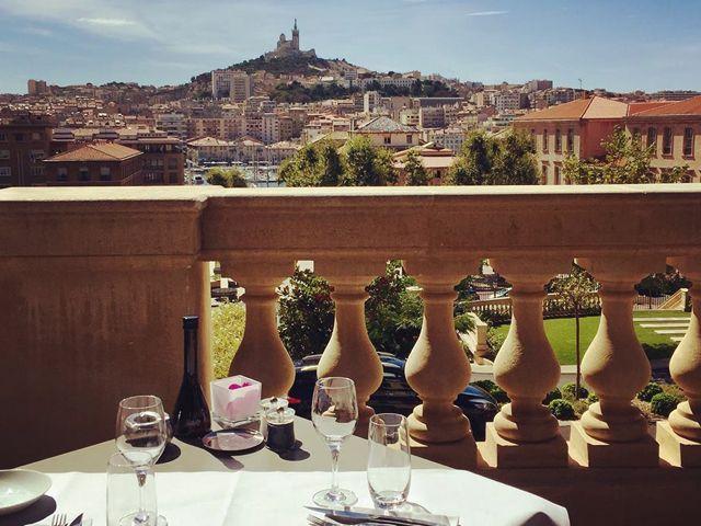 Restaurant vieux port Marseille - Les fenêtres de l'intercontinental
