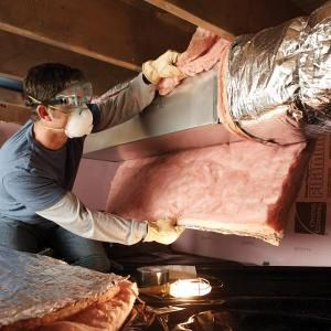 Leaky, uninsulated ducts in crawlspaces and attics waste huge amounts of energy and money. Use duct wrap insulation for a quick fix with a big, immediate payoff.