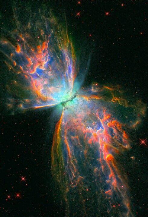 Butterfly nebula | Planets | Pinterest