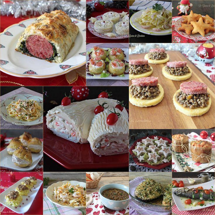 Tante sfiziose e deliziose idee per preparare uno squisito Menù di Capodanno per festeggiare con parenti e amici l'arrivo del Nuovo Anno