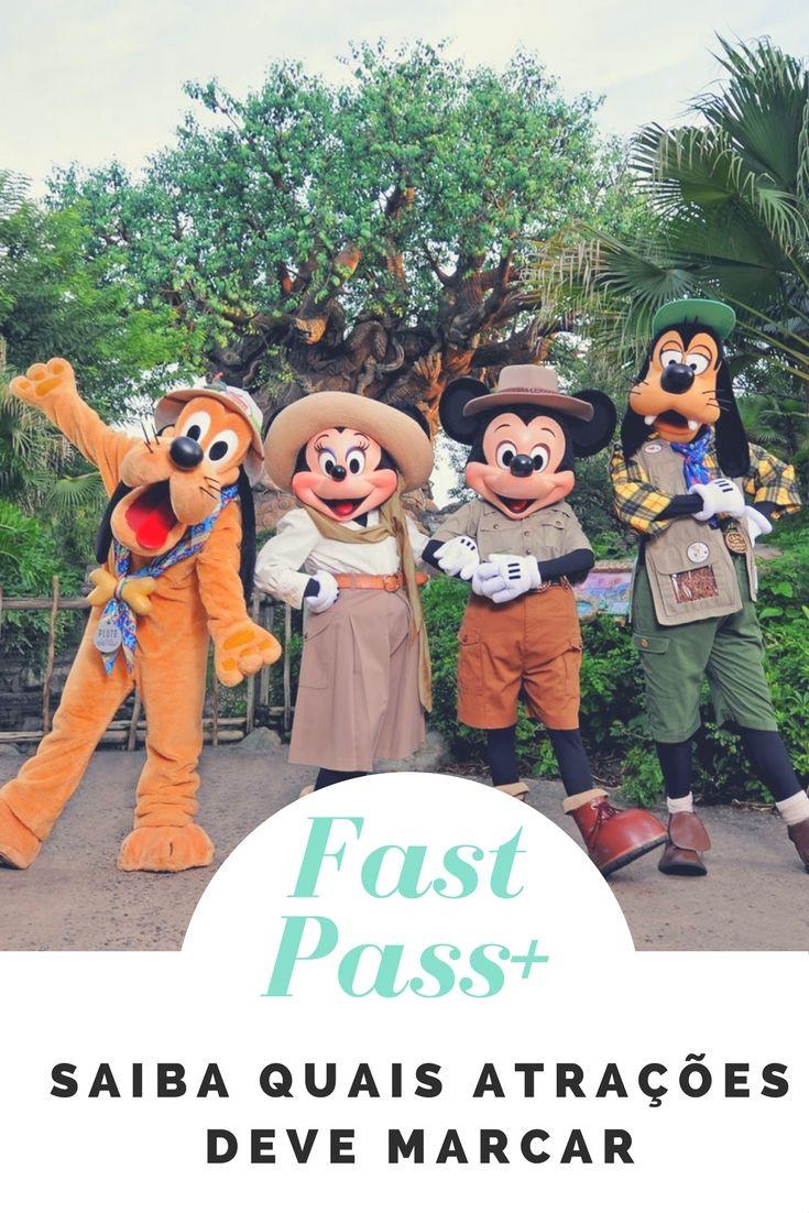 Saiba quais atrações deve marcar Fast Pass+ para curtir ainda mais suas férias na Disney. #disney #fastpass+ #fastpass