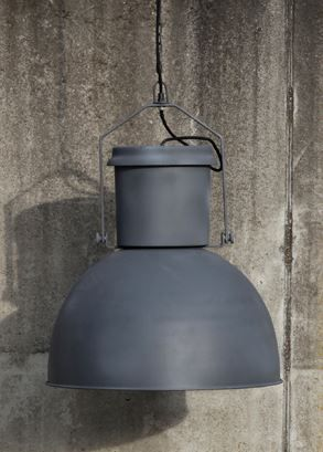 Luminaire cloche style industriel métal http://www.abcd-aire.com/Luminaires_neufs.htm