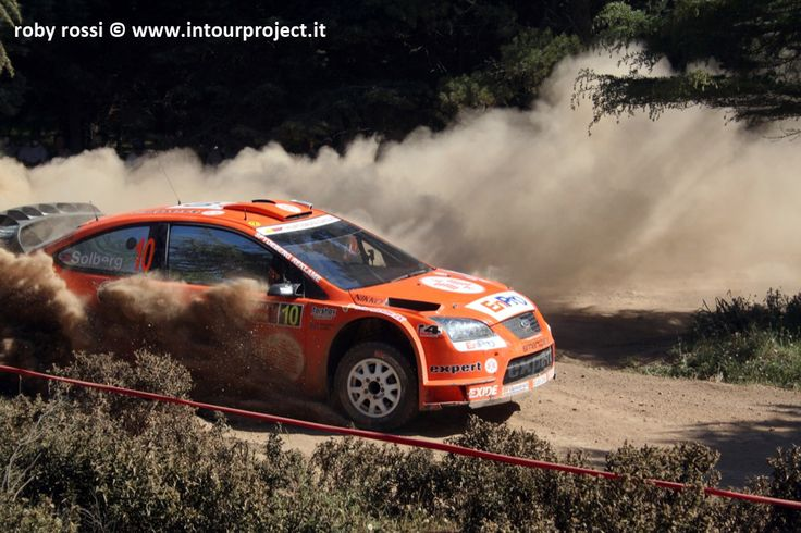 Henning Solberg - WRC Rally Costa Smeralda 2007 - foto di Roby Rossi http://www.intourproject.it/it/in_photo/il_significato_delle_immmagini_nella_comunicazione_cat_11.htm