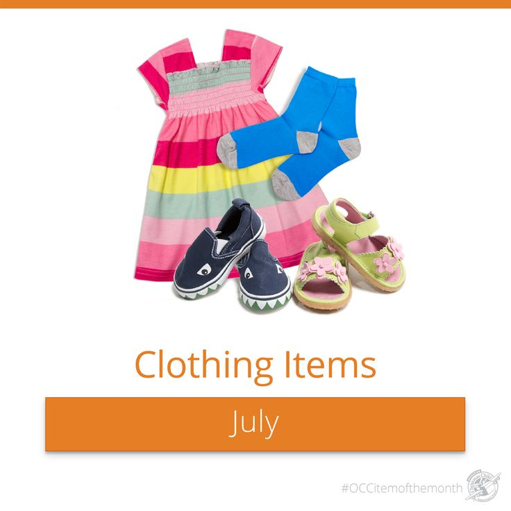 clothing items like shirts hats shoes dresses and more are great additions to