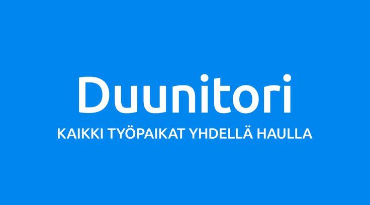 #työpaikka  #työnhaku #työnhakupalvelu Duunitori