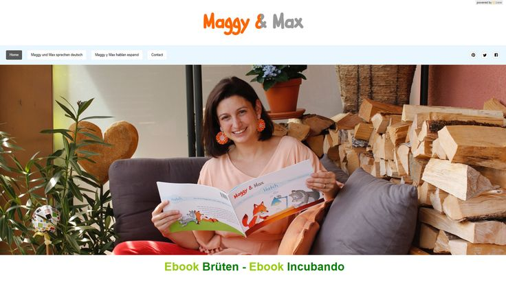 Maggy and Max by Stefanie Schurich ebooks - Stefanie Schurich as the author of the adorable Maggy & Max stories now offers her first e-books as digital download on her b2zone website project, in English, German and Spanish. For all you authors out there who have yet unpublished books, tutorials or patterns, you can now use our easy service to make them available to your audience! #b2zoneservice #b2zonemagazine