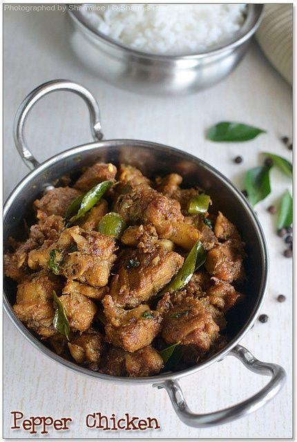 Pepper Chicken (Dry) - Chicken Recipes