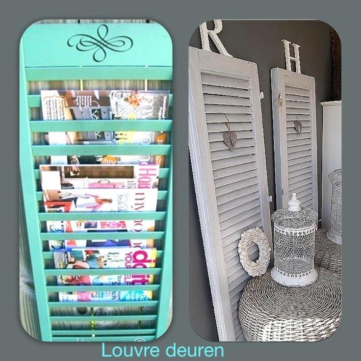 louvre deurtjes voor tijdschriften