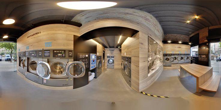 Lavanderia autoservicio y automatica en Barcelona - El Safareig del Barri