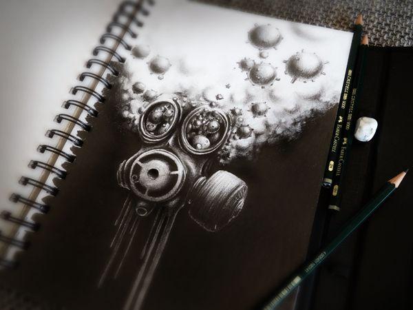 beautiful, clever, creative, Digital Art, drawing, Illustration, Paper, pencil, sketchbook
