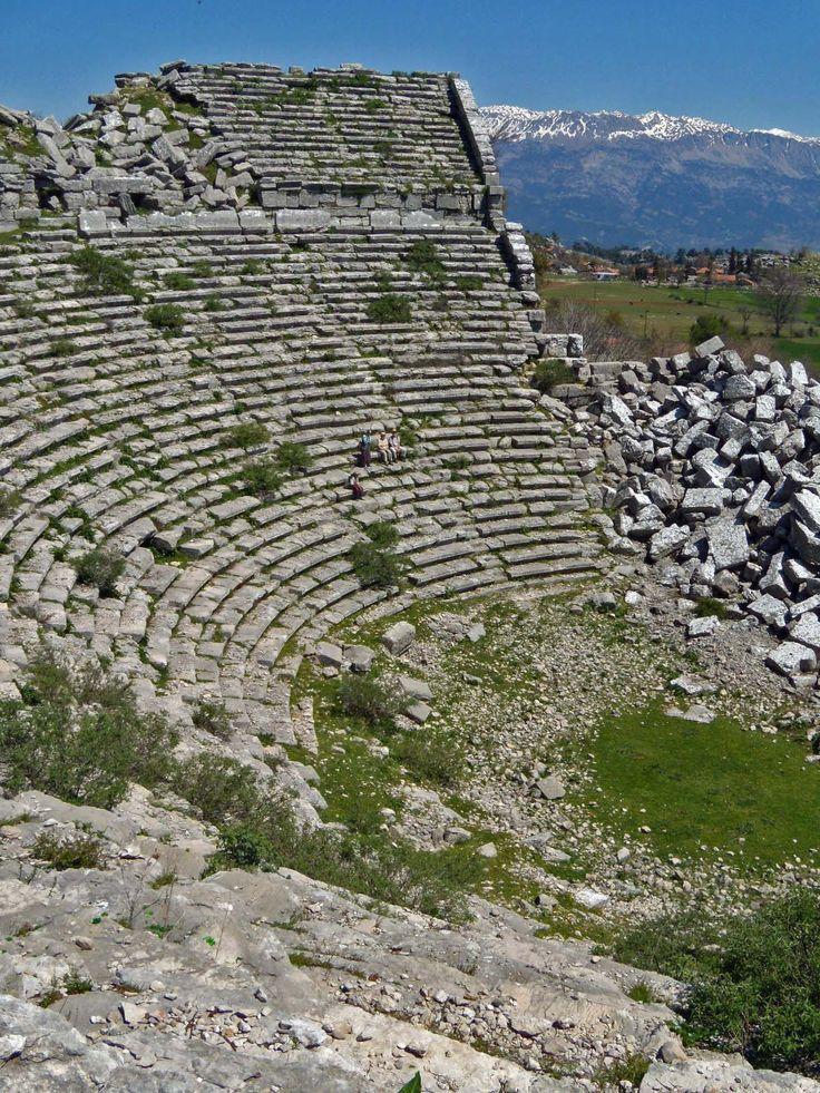 Theatre of Selge, Turkey