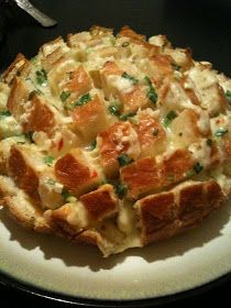 Blooming Onion Bread - also try adding poppy or pumpkin seeds