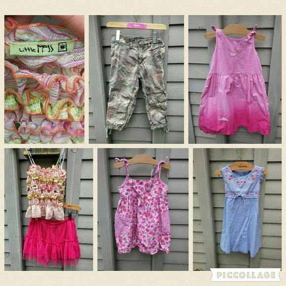 Selling this Girl's sz 5 summer lot of boutique clothing. in my Poshmark closet! My username is: phillandlesley. #shopmycloset #poshmark #fashion #shopping #style #forsale #Little Mass, Jumping Beans, Bonnie Jean, Cherokee #Other