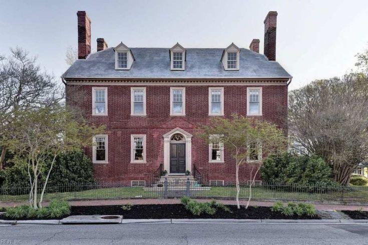 1797 federal smithfield va 625000 old house