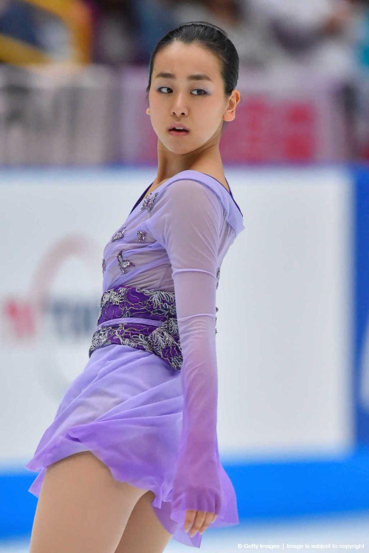 Mao Asada of Japan competes in the Ladies Singles Free Skating during the Japan Open 2015 Figure Skating at Saitama Super Arena on October 3, 2015 in Saitama, Japan. (1024×1536)
