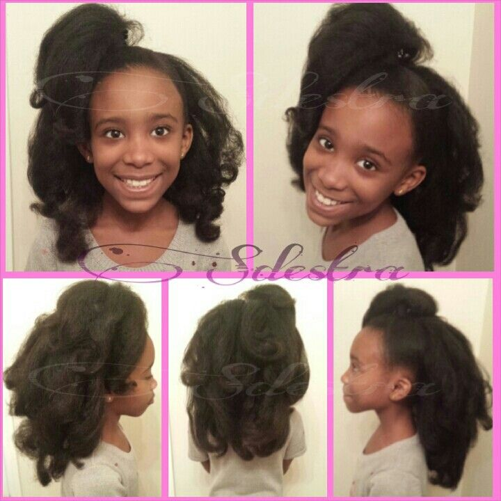 Pleasant 1000 Images About Natural Kids Curly Styles On Pinterest Short Hairstyles For Black Women Fulllsitofus