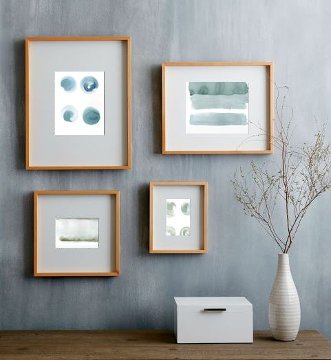 White Canva Gallery - wall