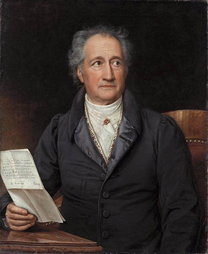 """JOHANN WOLFGANG VON GOETHE """"If I love you, what business is it of yours?"""""""