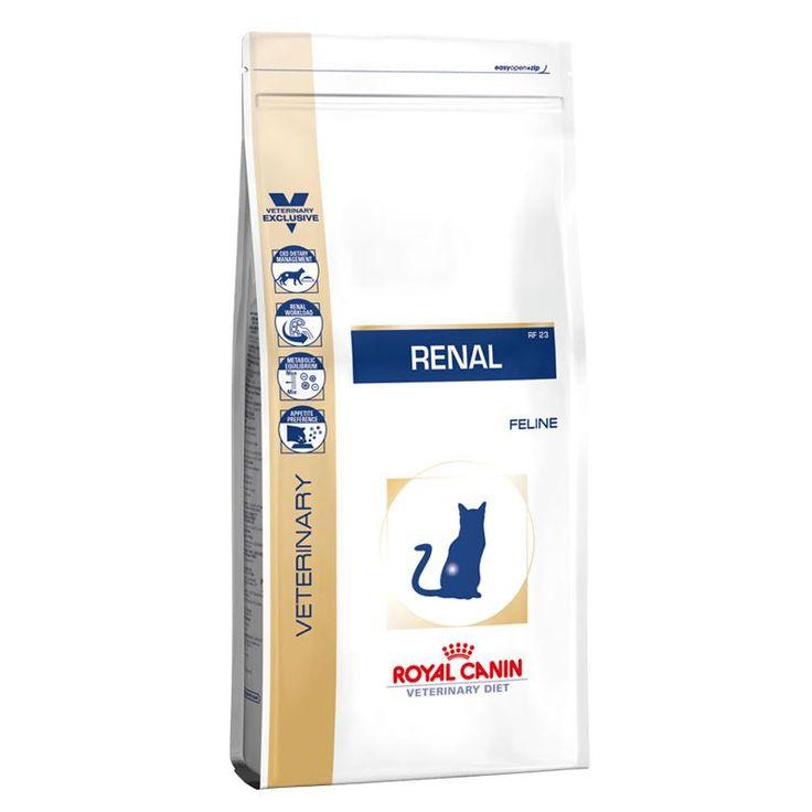 Royal Canin Veterinary Diet Renal (RF23) Trockenfutterfür Katzen mit Nierenerkrankungen Liebe Kunden, Royal Canin erweitert das Renal Sortiment und hat in diesem Zusammenhang auchdie Rezeptur des Royal Canin...