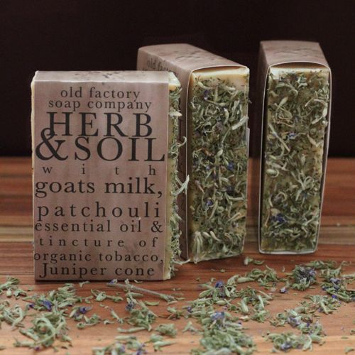 Herb Soil Patchouli Handmade Organic Soap Old Factory Soap Company