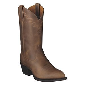 Ariat Sedona Western Boots for Men - Distressed Brown - 10.5 M