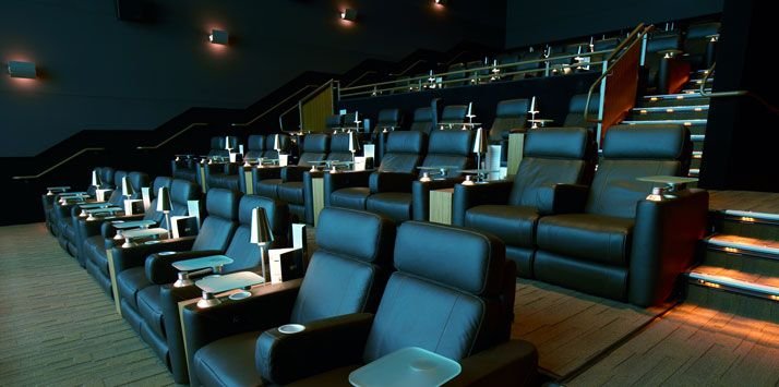 Cinepolis Luxury Cinemas. . .Movie theater with leather recliners, full bar and fine dining