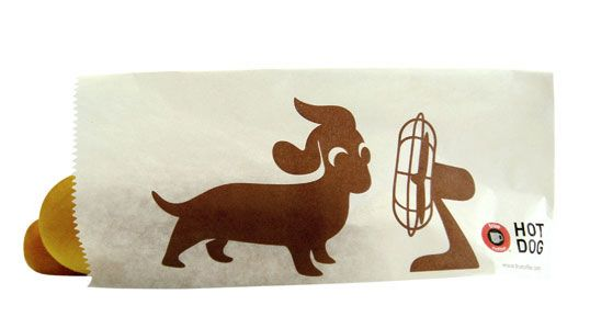 TrueCoffee Hot Dog: hot doggyFood Packaging, Dachshund, Hotdog, Dogs Packaging, Packaging Design, Artsy Design, Graphics Design, Creative Packaging, Hot Dogs