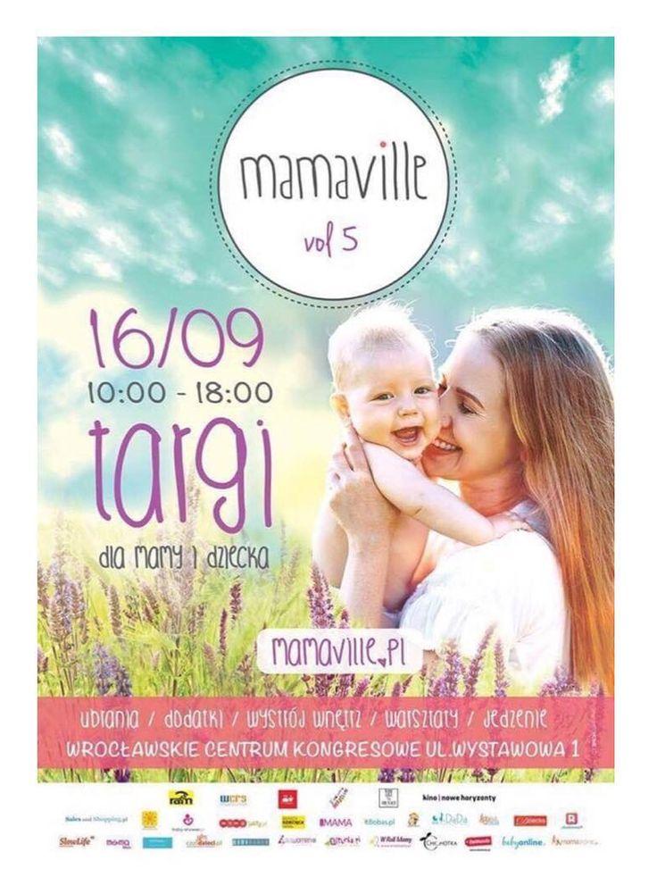 Już w tą sobotę kolejna edycja targów mamaville we Wrocławiu 😊 Jednym z wystawców będzie Memi 😁   Zapraszamy! #targi #targidziecięce #memi #lovememi #mamaville