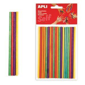 Palos redondos de madera de colores para manualidades http://www.selfpaper.com/html/palos-redondos-de-madera-colores-manualidades-g.html