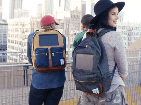 Project Solaire's Solar-Powered Backpacks charge Gadgets on the Go