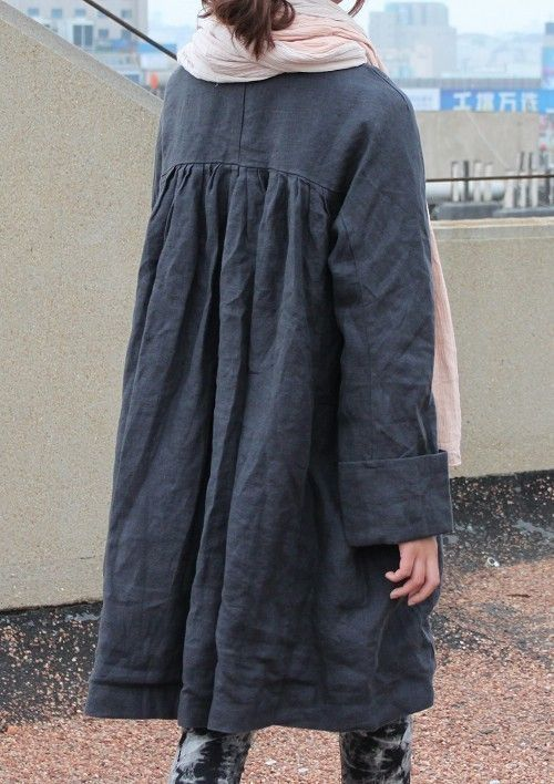 linen project-Thanks Eireann, I know where to buy my winter coat for LA now!