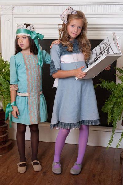 Vestidos de ceremonia para niñas de Pilar del Toro #flowergirl #pajes #tendenciasdebodas