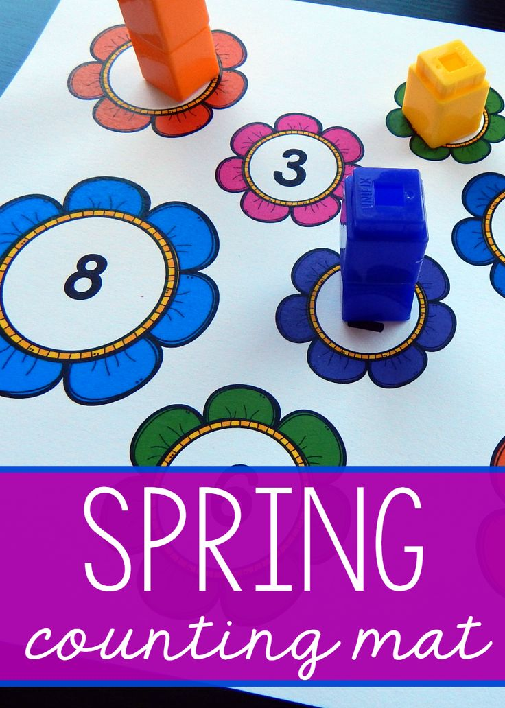 spring counting mat