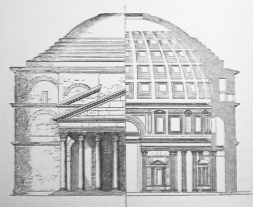 Roman Architecture Drawing 75 best architectural drawings of rome images on pinterest