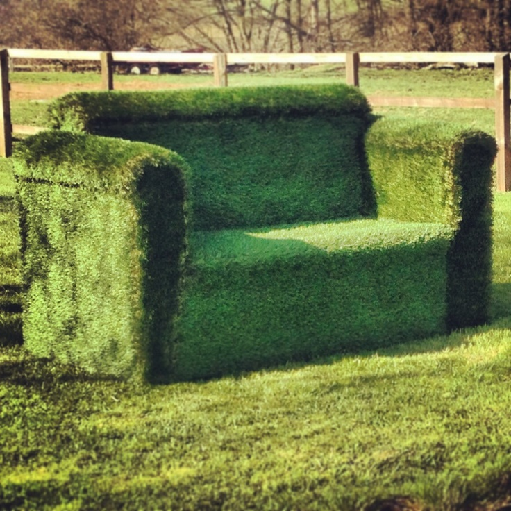 Get that feeling of sitting of freshly cut summer grass all year round! Purchase a top quality artificial grass sofa at a great price from http://www.evergreendirect.co.uk/products_more/28/11351