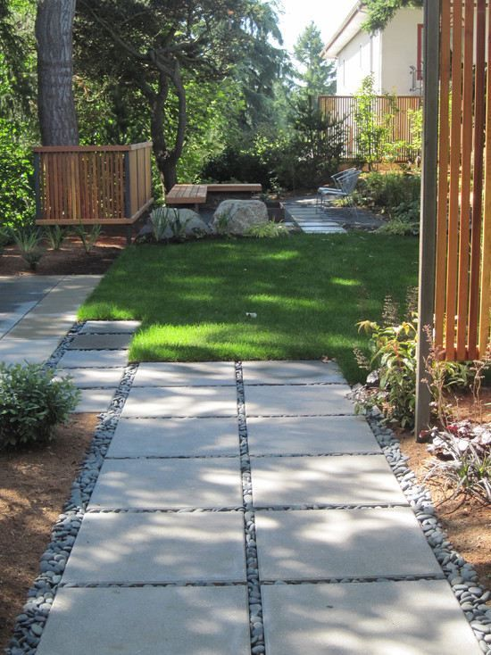 2400 best Jardin images on Pinterest Backyard ideas, Garden ideas - allee de garage en cailloux