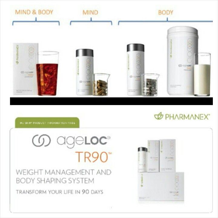 ageLoc TR90 Nu Skin: Hidup sehat, langsing dan tampil lebih muda